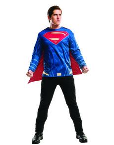 Kit disfraz de Superman Batman vs Superman para hombre