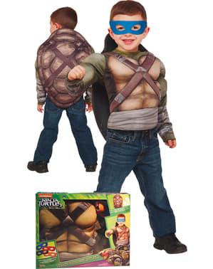 Fato de Tartaruga Ninja para menino em caixa