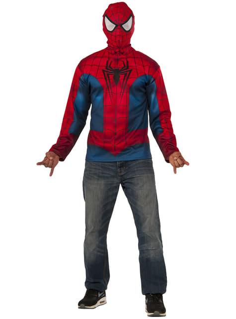 Kit Tshirt et masque de Spiderman