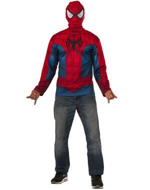 Kit maglietta e maschera Spiderman