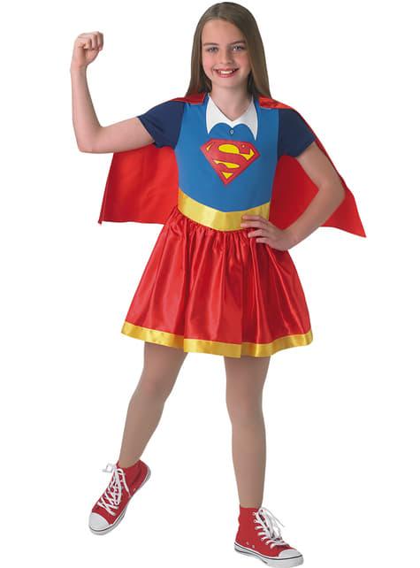 Perinteinen Supergirlasu tytöille
