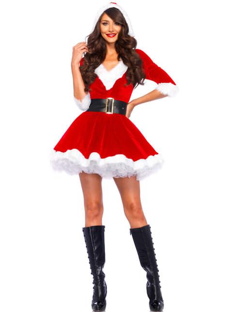 Disfraz de ayudante de Papá Noel para mujer