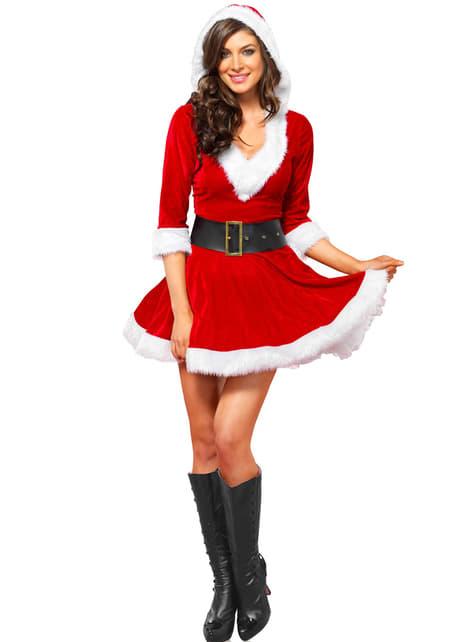 Fato de ajudante de Pai Natal para mulher