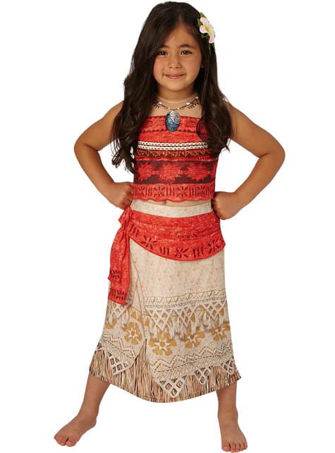 Vaiana delux Kostüm für Mädchen