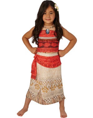 Deluxe Moana costume for a girl
