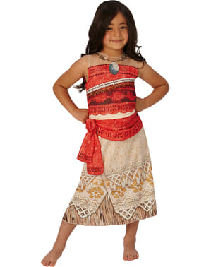 Moana costume for a girl