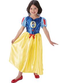 Disfraz de Blancanieves cuento de hadas para niña