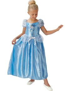 Disfraz de Cenicienta cuento de hadas para niña