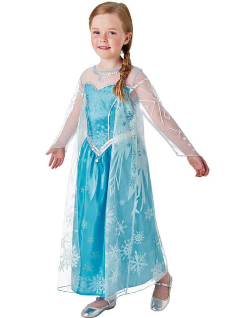 Kostium Elsa Frozen Deluxe dla dziewczynki