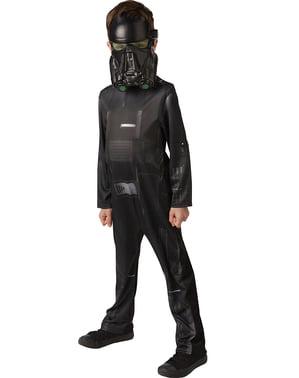 Death Trooper Star Wars Rogue One Kostyme til Barn