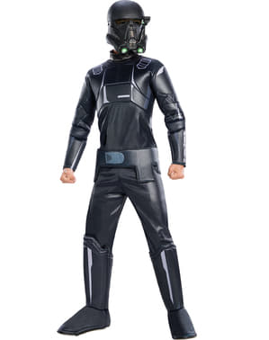 Costum Death Trooper Star Wars Rogue One premium pentru copii