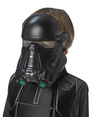 Máscara de Death Trooper Star Wars Rogue One infantil
