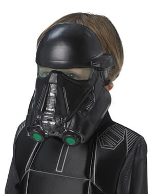 Máscara de Death Tropper Star Wars Rogue One para criança