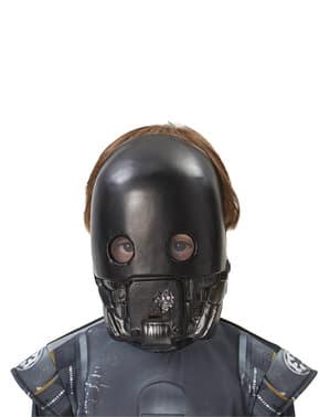 어린이 K-2SO 스타 워즈 도그 한 마스크