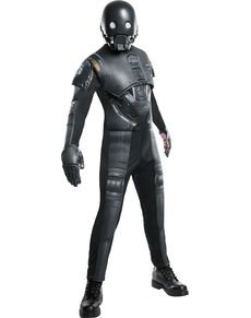 Disfraz de K-2SO Star Wars Rogue One deluxe para hombre