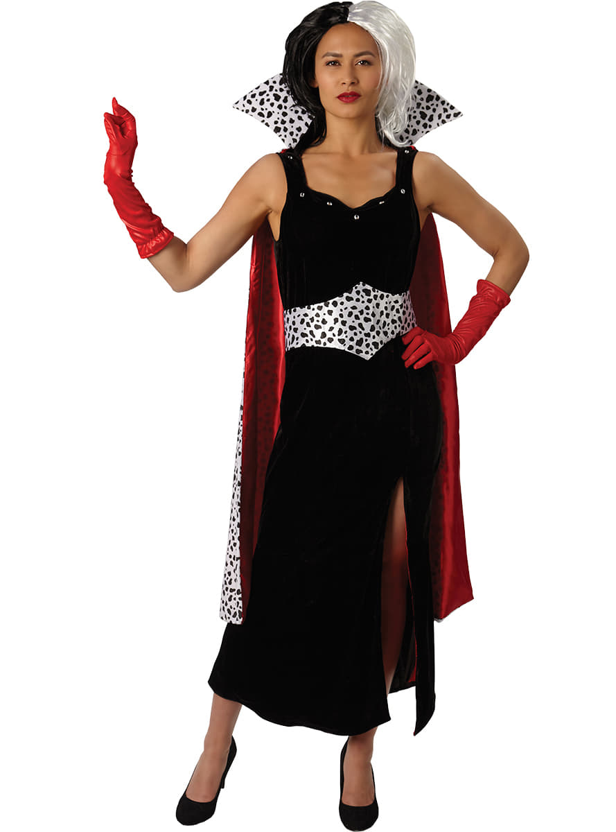 cruella de vil costume for a woman the coolest funidelia. Black Bedroom Furniture Sets. Home Design Ideas