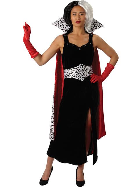Strój Cruella de Mon dla niej