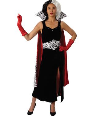 Cruella de Vil kostume til kvinder