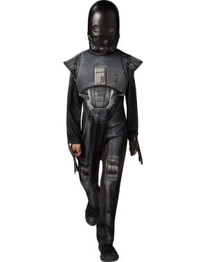K-2SO Star Wars Rogue One Luksuskostyme til Barn