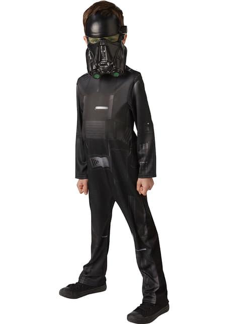 Fato de Death Trooper Star Wars Rogue One para adolescente