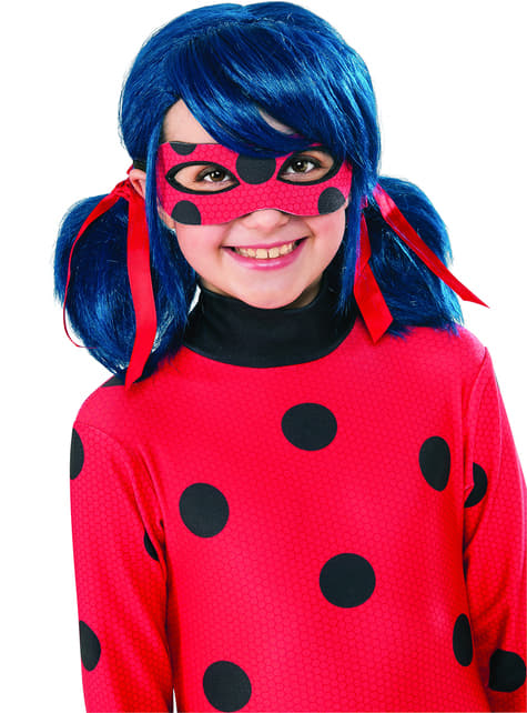 Peruca de Ladybug para menina