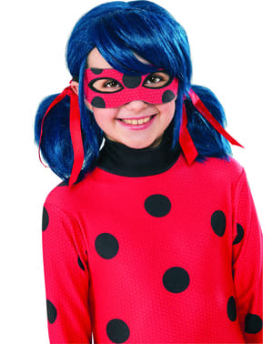 Parrucca da Ladybug per bambina