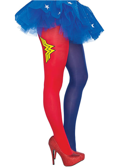 Collants Wonder Woman femme