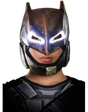 Batman vs Superman Batman maske med lys til drenge