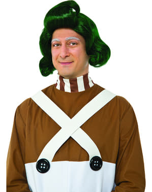 Man's Oompa Loompa Charlie and the Chocolate Factory Wig
