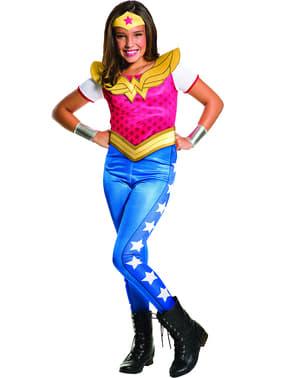 Costum Wonder Woman pentru fată