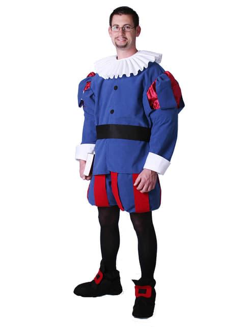 Cervantes Renaissance Costume in Blue