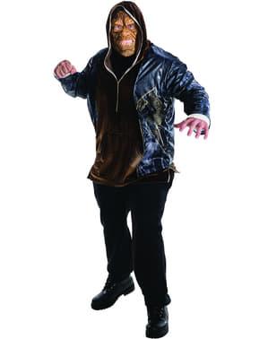Costume da Killer Croc Suicide Squad per uomo taglie forti