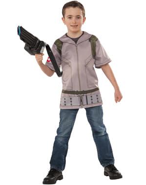 Kit fato de caça-fantasmas infantil