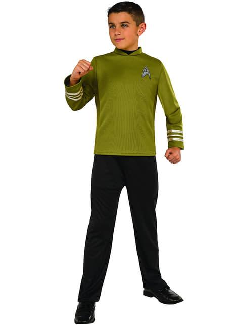 Fato de Capitão Kirk Star Trek para menino
