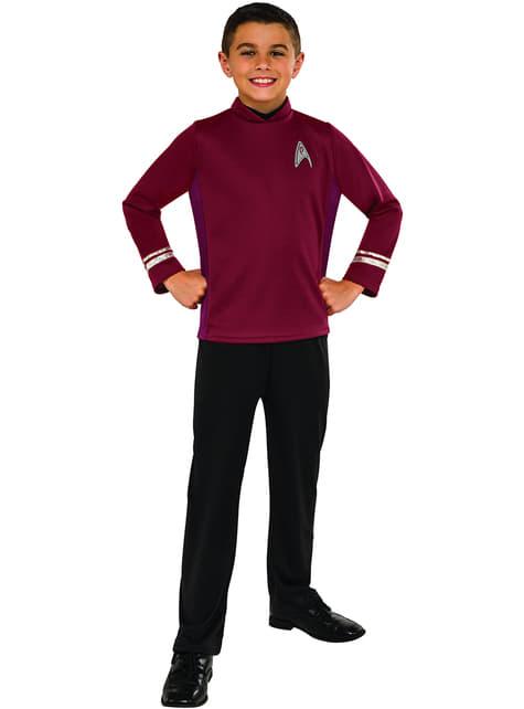 Fato de Scotty Star Trek para menino