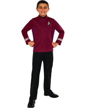 Costum Scotty Star Trek pentru băiat