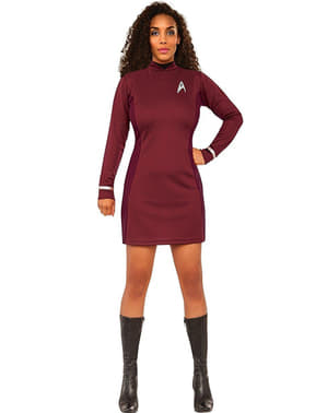 Costum Uhura Star Trek pentru femeie