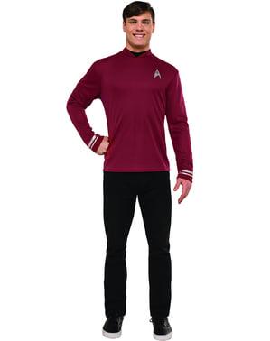Disfraz de Star Trek rojo para hombre