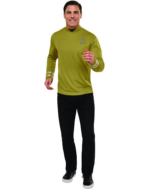 Man's Deluxe Captain Kirk Star Trek Costume