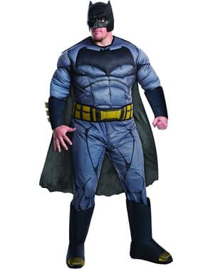 Costume da Batman Batman vs Superman deluxe per uomo taglie forti