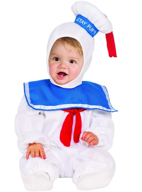 Disfraz de Marshmallow Los Cazafantasmas para niño
