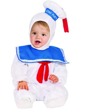 Marshmallow kostuum Ghostbusters voor jongens