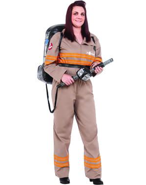 Geisterjäger Kostüm deluxe für Damen große Größe aus Ghostbusters 3