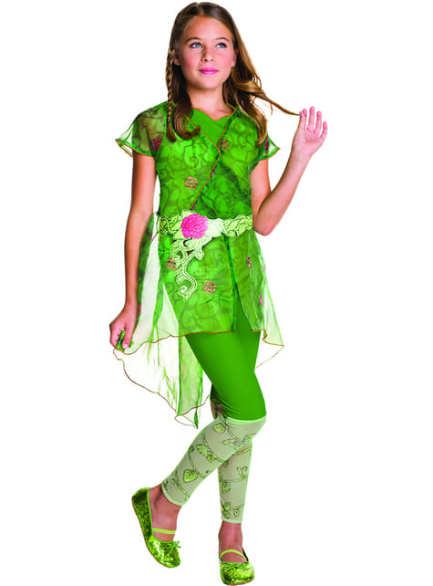 Girl's Deluxe Poison Ivy Costume