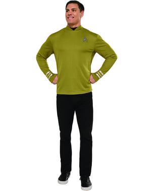 Kaptein Kirk Star Trek Kostyme Mann