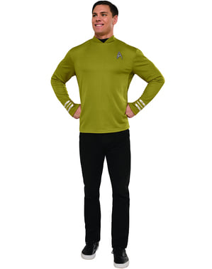 Man's Captain Kirk Star Trek Costume
