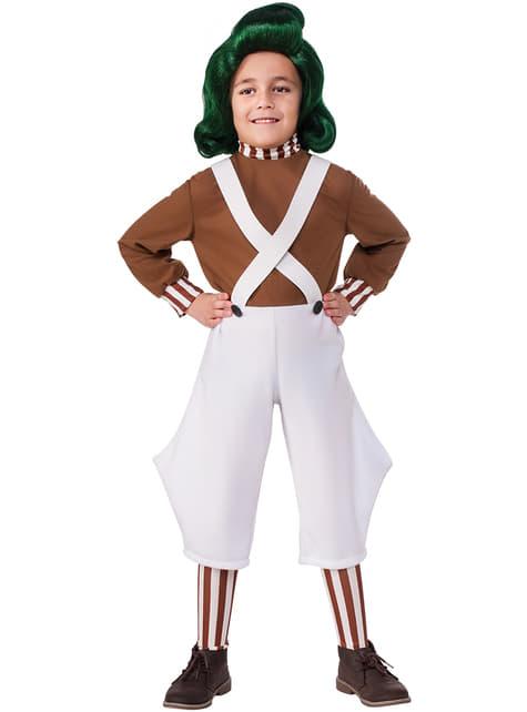 Kids's Oompa Loompa Costume