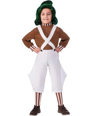 Oompa Loompa Kostüm für Kinder