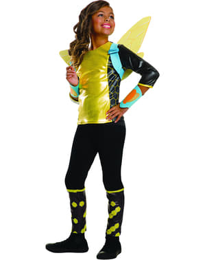 Girl's Bumblebee DC Comics Costume
