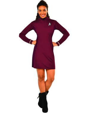 Star Trek Uhura kostume deluxe til kvinder